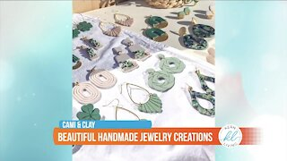Kern Living: Beautiful jewelry creations made from clay