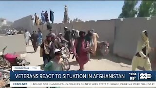 Local veteran reacts to the situation in Afghanistan