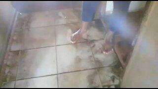 SOUTH AFRICA - Durban - Burst water pipe (Videos) (skw)