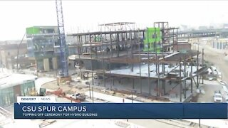 CSU Spur campus topping off 3rd building
