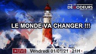 LE MONDE VA CHANGER !!! part 7 la boule de cristal de l'etat profond (live 1er janvier)