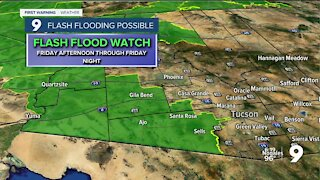 Flash flood potential remains high