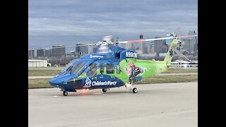 Children's Mercy Helicopter Launches to save a life