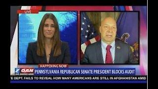 Penn GOP Senate Corman Prevents Doug Mastriano Issuing Forensic Audit