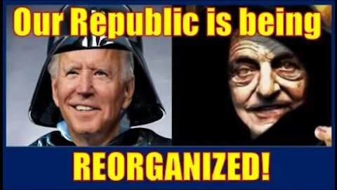 WATCH as our great Constitutional Federal Republic is being Reorganized 😡