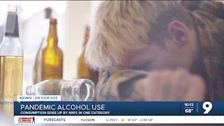 New study shows steep increase in alcohol consumption amid pandemic