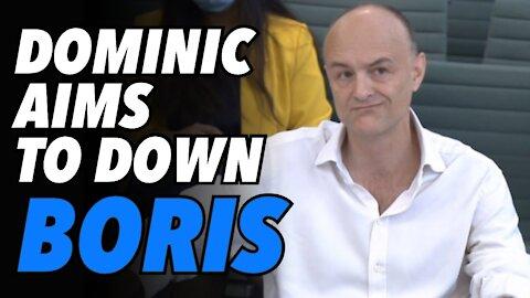 Dominic Cummings' testimony aims to weaken Boris Johnson