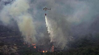Wildfires Prompt Evacuations In Italy's Sardinia Region