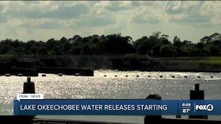 Lake Okeechobee water releases resume