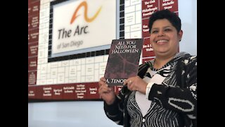 San Diego woman with cerebral palsy publishes book after pandemic job loss
