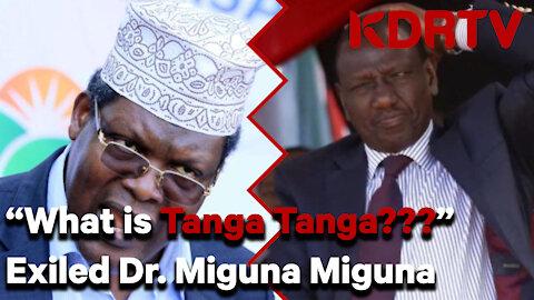 "Miguna Miguna, ""William Ruto is a Thief and not intelligent like me"" | KDRTV"
