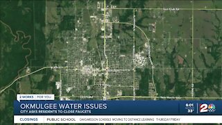 Okmulgee water issues: City asks residents to close faucets