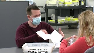 Erie County is counting 84,000 mail-in ballots