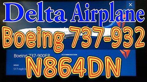 Delta Plane N864DN