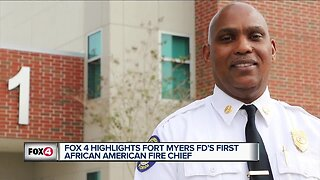 Fort Myers' first African American fire cief is a manifestation of Dr. King's dream