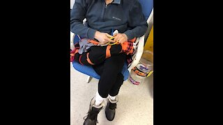 Rocking Chair/Weighted Fine-Motor Activity for Individuals with Developmental Disabilities