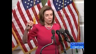 Pelosi about build back better