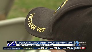 Baltimore National Cemetery honors Vietnam veterans