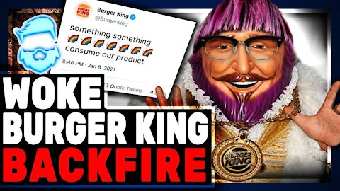 Burger King Gets WOKE & It Backfires Of Course.. Mocks Chick-fil-A & Christians