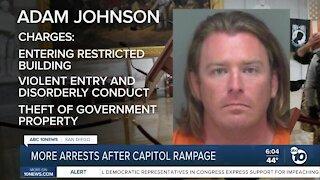 More arrests following Capitol riot