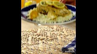 Lemon Chicken with Cauliflower Rice