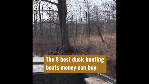 The Best Duck Hunting Boats Money Can Buy