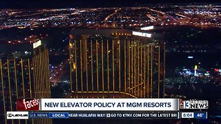 Response to MGM Las Vegas changing security policy