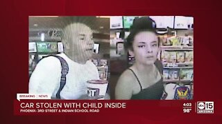 Amber Alert issued after truck stolen in PHX with baby inside