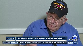 Colorado WWII veterans remember D-Day