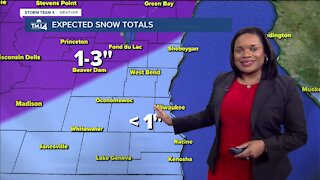 Chance for snow on Sunday