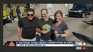 National food truck competition underway in Fort Myers