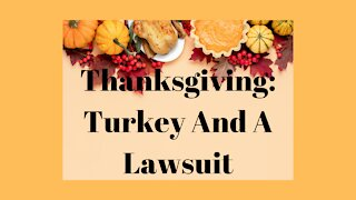 Thanksgiving And Another Sidney Powell Lawsuit