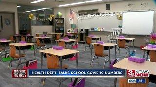 Health Dept. Talks School COVID-19 Numbers
