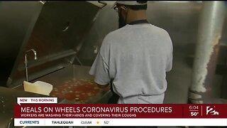Meals on Wheels Coronavirus procedures