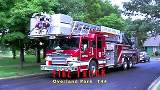Fire Truck Overland Park T44