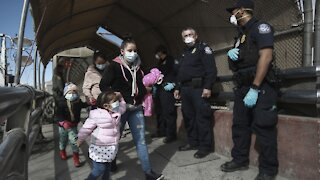 Growing Number Of Migrants Trying To Cross Border
