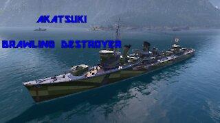 World of Warships - Akatsuki: Brawling Destroyer