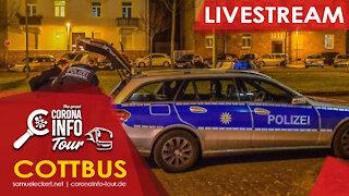 Polizei stürmt unser Dinner