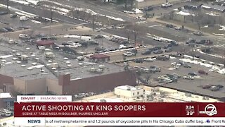 Active shooter reported at King Soopers in Boulder