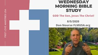 Christ in You the Hope of Glory! - Bible Study   Don Nourse - FLMUSA 7/29/20