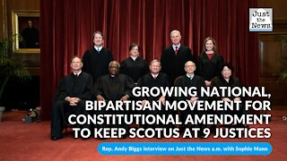 Growing national, bipartisan movement for constitutional amendment to keep SCOTUS at 9 justices
