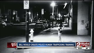 Bill would create police human trafficking training