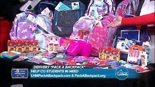 Denver7 and Larry H Miller // Pack A Backpack