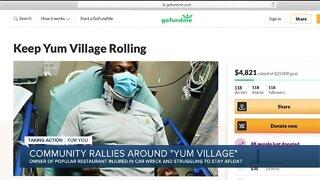 Community raising money for Detroit's Yum Village after owner's car accident