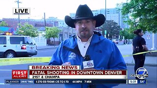 Denver police investigating fatal shooting downtown early Monday