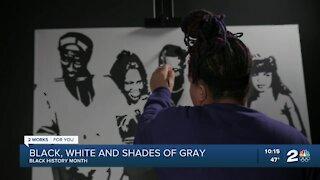 Black, White & Shades of Gray