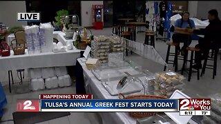 Tulsa's annual Tulsa Greek Festival starts today
