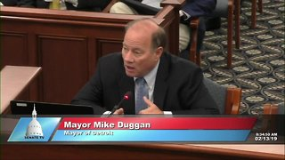 Detroit Mayor Mike Duggan testifies on auto insurance reform