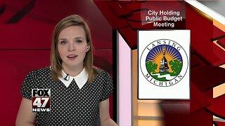 Lansing budget meeting happening Thursday