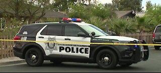 Vegas police investigate homicide scene near Maryland, Bonanza